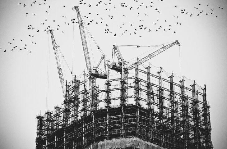 construção de um prédio