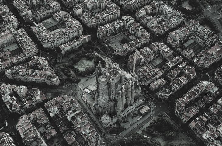 imagem de bairros planejados de barcelona